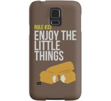 Zombie Survival Guide - Rule #32 - Enjoy the Little Things Samsung Galaxy Case/Skin