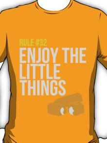 Zombie Survival Guide - Rule #32 - Enjoy the Little Things T-Shirt