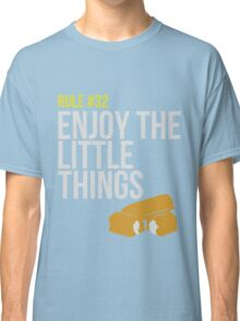 Zombie Survival Guide - Rule #32 - Enjoy the Little Things Classic T-Shirt