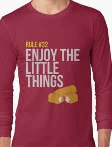 Zombie Survival Guide - Rule #32 - Enjoy the Little Things Long Sleeve T-Shirt