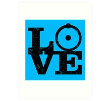 Doctor Manhattan Love! Art Print