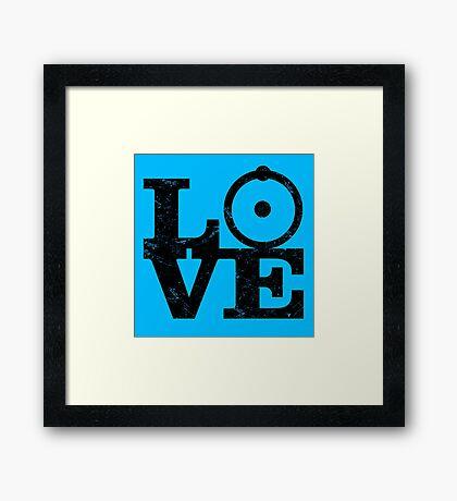 Doctor Manhattan Love! Framed Print