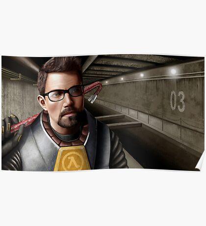 Half-life - Gordon Freeman Poster