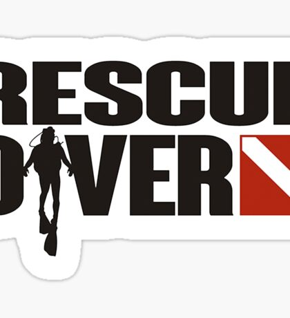 Rescue Diver  Sticker