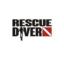 Rescue Diver  Photographic Print