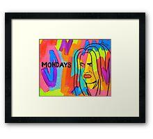 Money Days Money Daze Framed Print