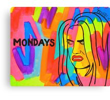 Money Days Money Daze Canvas Print