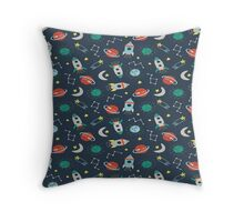 All about space Throw Pillow