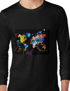 World Grunge Long Sleeve T-Shirt