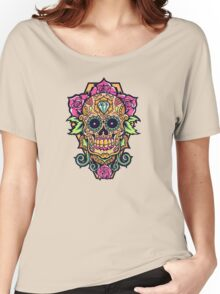 Awesome skull Women's Relaxed Fit T-Shirt