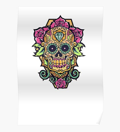 Awesome skull Poster