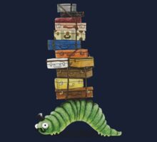 Monsieur Caterpillar Goes Travelling Kids Tee