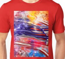 The American Flag Painted Unisex T-Shirt