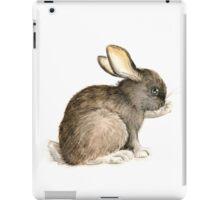 The black bunny iPad Case/Skin