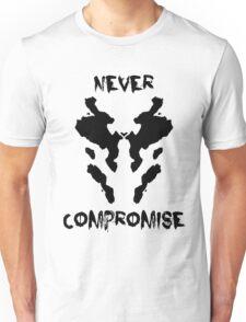Never Compromise Rorschach Watchmen Unisex T-Shirt