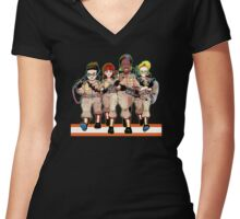 Booyah! Women's Fitted V-Neck T-Shirt