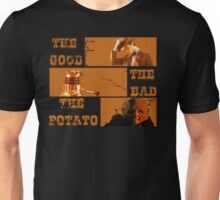The Good - The Bad - The Potato v2 Unisex T-Shirt