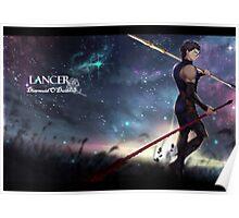 Fate Zero Lancer Poster