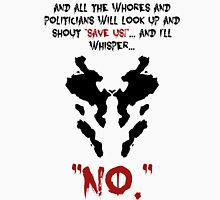 Quote Rorschach Watchmen Classic T-Shirt