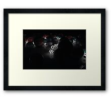 Balls - Starry Night Framed Print