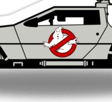 Ghostbusters To The Future! Sticker