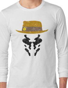 Rorschach Watchmen Vintage Long Sleeve T-Shirt