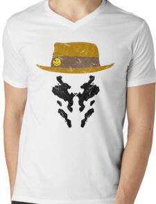 Rorschach Watchmen Vintage Mens V-Neck T-Shirt