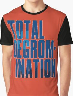 Total deGromination In Blue Graphic T-Shirt