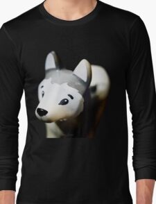 Lego Siberian Husky  Long Sleeve T-Shirt