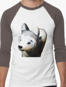 Lego Siberian Husky  Men's Baseball ¾ T-Shirt