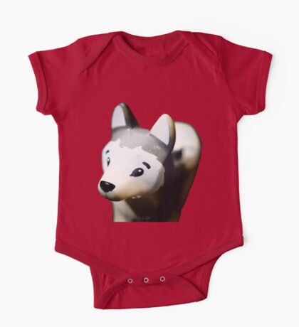 Lego Siberian Husky  One Piece - Short Sleeve