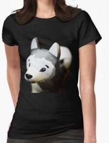 Lego Siberian Husky  Womens Fitted T-Shirt