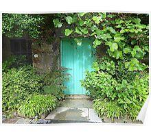 The Turquoise Door Poster