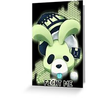 Dramatical Murder - Fight me Greeting Card