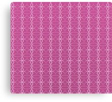Abstract Pink Style Canvas Print