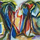 'Tropical Art Impressions 1' by Kerryn Madsen-Pietsch  by Kerryn Madsen-Pietsch