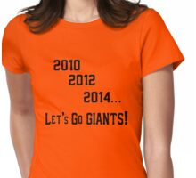 S.F. GIANTS Womens Fitted T-Shirt