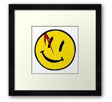 Watchmen Symbol Framed Print