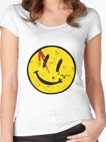 Watchmen Symbol Vintage Women's Fitted Scoop T-Shirt
