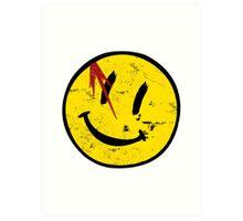 Watchmen Symbol Vintage Art Print