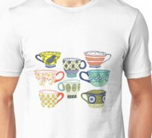 Patterned Ceramics Unisex T-Shirt