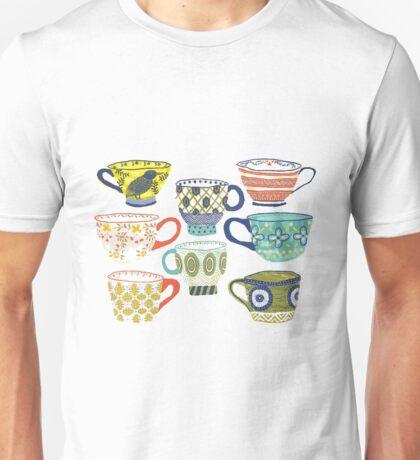 Patterned Ceramics Unisex T-Shirt