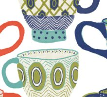 Patterned Ceramics Sticker