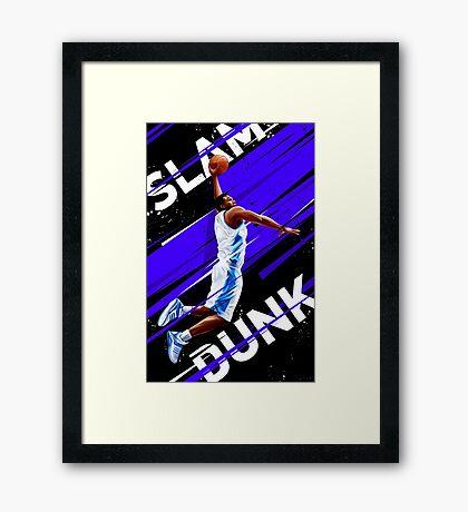 Slam Dunk Framed Print