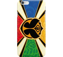 Tomorrowland flag poster iPhone Case/Skin