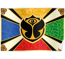 Tomorrowland flag poster Poster