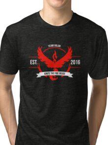 Team Valor Design 1 Tri-blend T-Shirt