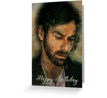 Posed 'Happy Birthday' Cards Greeting Card