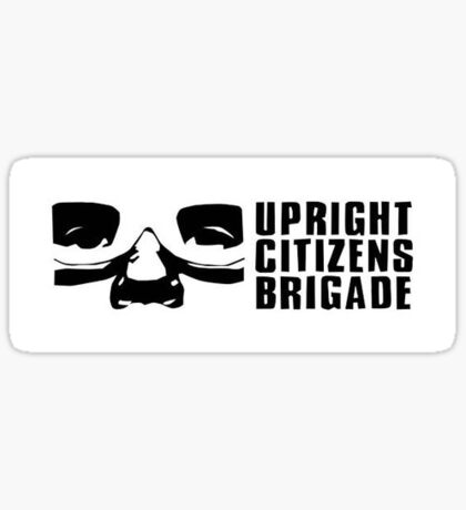 Upright Citizens Brigade logo Sticker