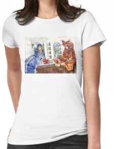 French dolls Womens Fitted T-Shirt